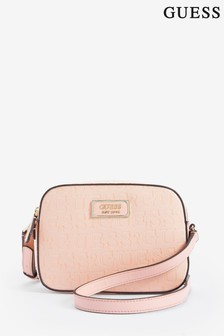 Guess Peach Kamryn Cross Body Bag