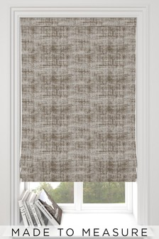 Made To Measure Hamden Texture Natural Roman Blind