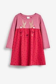 Reindeer Dress (3mths-7yrs)
