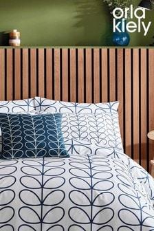 Set of 2 Orla Kiely Linear Stem Pillowcases