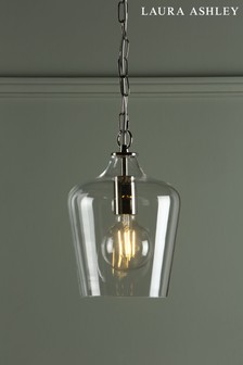 Clear Ockley Bottle Pendant Ceiling Light