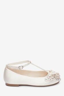 Embellished Butterfly T-Bar Shoes (Older)