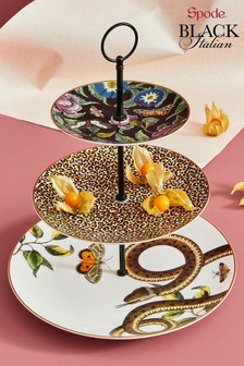 Spode Creatures of Curiosity 3 Tier Cake Stand