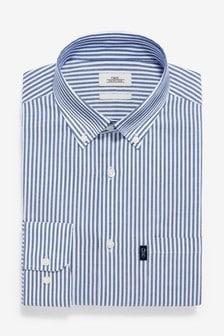 Оксфордская рубашка из немнущейся ткани на пуговицах