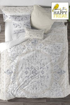 Cotton Flower Duvet Cover and Pillowcase Set