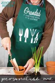 Personalised Father's Day Gardening Apron by Jonnys Sister