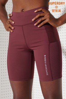 Superdry Sport Training Mesh Tight Shorts