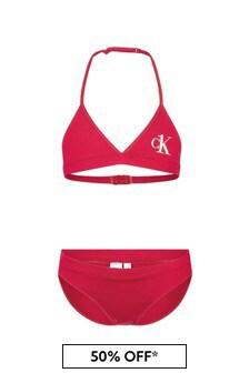 Calvin Klein Underwear Girls Pink Bikini