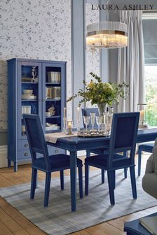Henshaw Dusky Seaspray Extending Dining Table by Laura Ashley