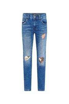 Guess Boys Blue Cotton Jeans