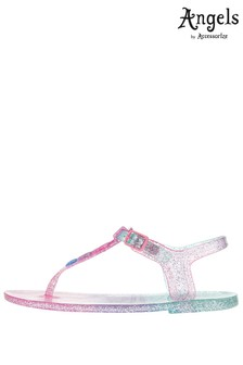 Angels By Accessorize Pink Star Jelly Sandal