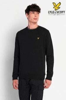 Lyle & Scott Plus Size Branded Ringer Sweatshirt