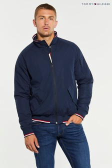 Tommy Hilfiger Blue Harrington Jacket