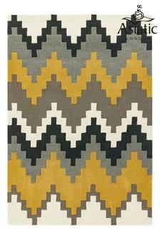 Matrix Chevron Wool Rich Rug by Asiatic Rugs