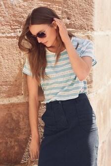 Washed Stripe T-Shirt