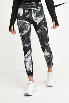 Nike Epic Lux Floral 7/8 Running Leggings