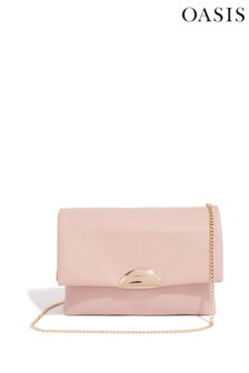Oasis Natural Ellen Cross Body Clutch Bag