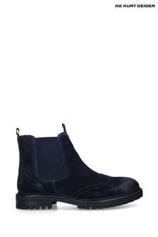 Kurt Geiger Blue Preston Boots