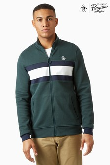 Original Penguin® Chest Stripe Sticker Pete Track Jacket
