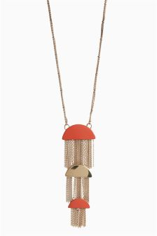 Tiered Fringing Necklace