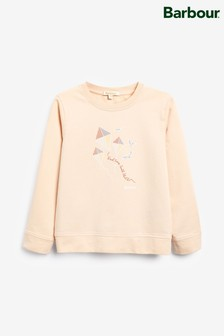 Barbour® Pale Coral Promenade Overlayer Jumper