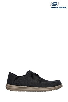 Skechers® Black Melson Volgo Shoes