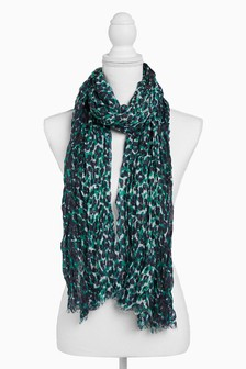 Animal Foil Lightweight Scarf