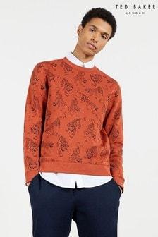 Ted Baker Rooots Printed Sweatshirt