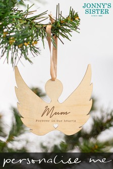 Personalised Memorial Bauble by Jonnys Sister