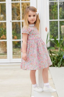 Trotters London Coral Betsy Dress
