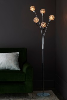Bedu 5 Light Floor Lamp