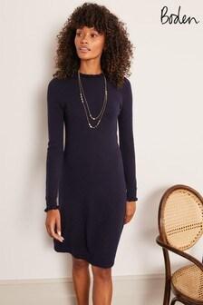 Boden Blue Lara Knitted Dress