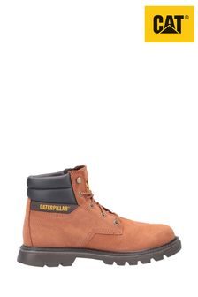 CAT® Lifestyle Orange Quadrate Lace-Up Boots