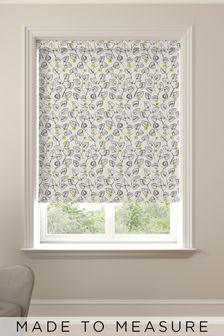 Leya Chartreuse Yellow Made To Measure Roller Blind