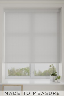 Luxer Eggshell White Made To Measure Roller Blind