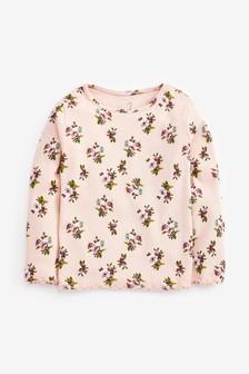 Long Sleeve Rib T-Shirts (3mths-8yrs)