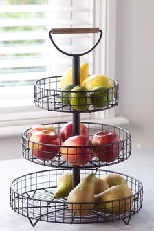 Bronx 3 Tier Fruit Bowl