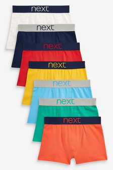 7 Pack Bright Trunks (2-16yrs)