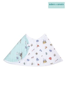 aden + anais Essentials Cotton Muslin Baby Burpy Bib -  Harry Potter™