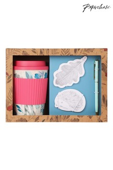 Paperchase Coffee Cup And Memo Gift Set