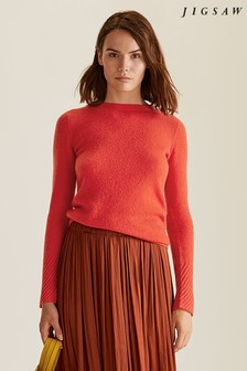 Jigsaw Cloud Cashmere Crew Jumper