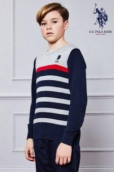 U.S. Polo Assn. Knitted Crew Sweatshirt