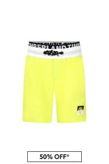 Timberland Boys Yellow Swim Shorts