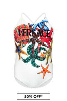 Versace Girls Multicolour Swimsuit