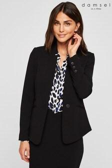 Damsel In A Dress Black City Suit Jacket