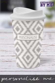 Personalised Reusable Coffee Cup by Customised By Me