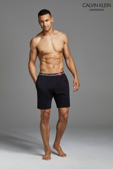 Calvin Klein Black 1981 Bold Sleep Shorts