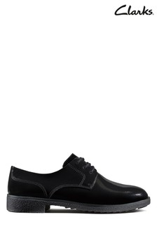 Clarks Black Griffin Lane Shoe