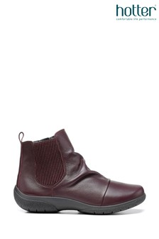 Hotter Ripon Zip Fastening Ankle Boots