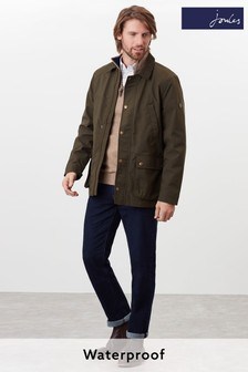 Joules Green Arbury Waterproof Field Coat